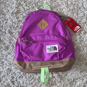 NWT The North Face Mini Berkeley Backpack - Violet